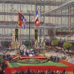Пазл онлайн: Визит королевы Виктории