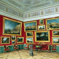 Пазл онлайн: Зал итальянской живописи