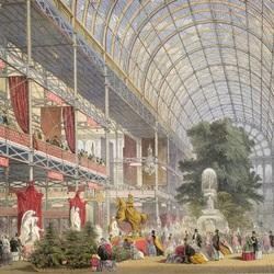 Пазл онлайн: Всемирная выставка 1851