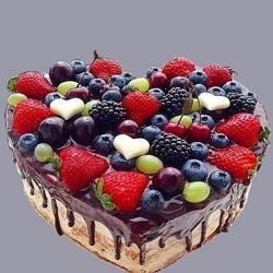 Пазл онлайн:  Тортик