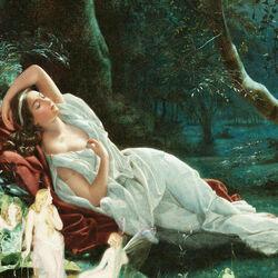Пазл онлайн: Спящая Титания