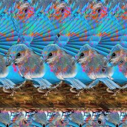 Пазл онлайн: Воробышек