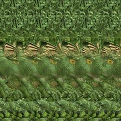 Пазл онлайн: Динозаврик