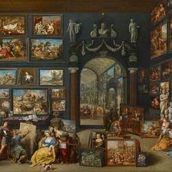 Пазл онлайн: Художественная мастерская