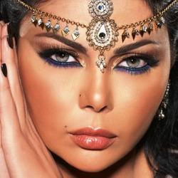 Пазл онлайн: Восточный макияж