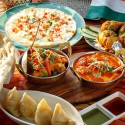 Пазл онлайн: Индийская кухня