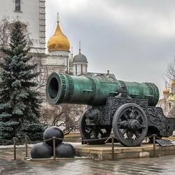 Пазл онлайн: Московский Кремль