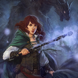 Пазл онлайн: Тень дракона