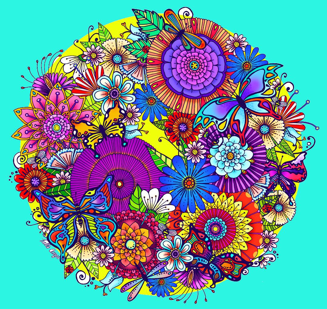 Примеры цветные картинки отправить