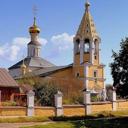 Пазл онлайн: Сельская церковь