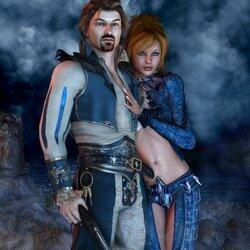 Пазл онлайн: Флинн и Тереза