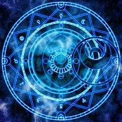 Пазл онлайн: Магический круг Артемиса Ли