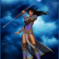 Пазл онлайн: Госпожа ветров