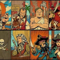 Пазл онлайн: Пираты на краю света