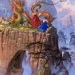 Пазл онлайн: Драконья серенада