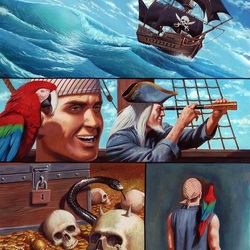 Пазл онлайн: Пиратский