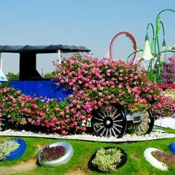 Пазл онлайн: Чудо -сад в Дубаях