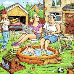 Пазл онлайн: Однажды летом
