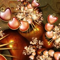 Пазл онлайн: Страсть сердец