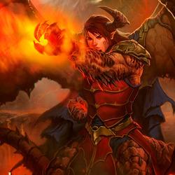 Пазл онлайн: Огненный маг: Преображение