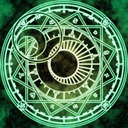 Пазл онлайн: Магический круг лунного венца