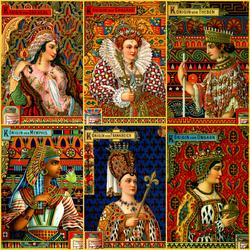 Пазл онлайн: Королевы