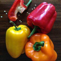 Пазл онлайн: Цветной перец