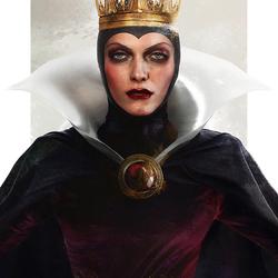 Пазл онлайн: Злая Королева