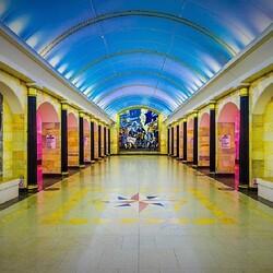 Пазл онлайн: Питерское метро