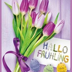 Пазл онлайн: Счастливой весны