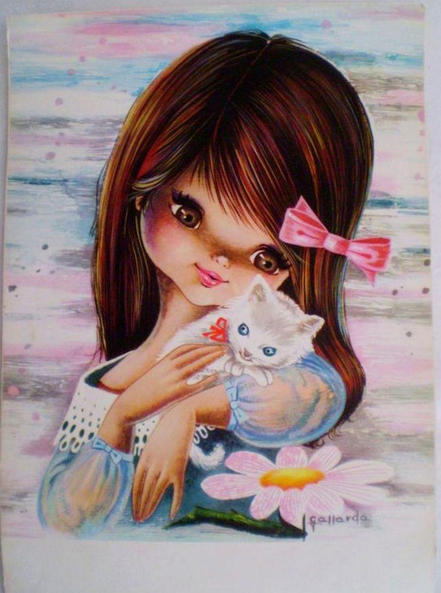 Картинки с рисунками для девочек