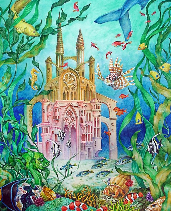 картинки подводного царства морского царя нас еще