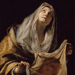 Пазл онлайн: Святая Вероника с платом