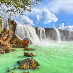 Пазл онлайн: Водопад