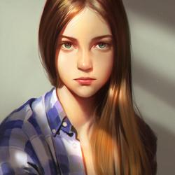 Пазл онлайн: Девочка