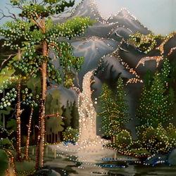 Пазл онлайн: Водопад чудес