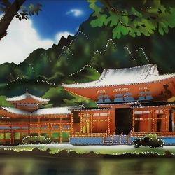 Пазл онлайн: Японский домик