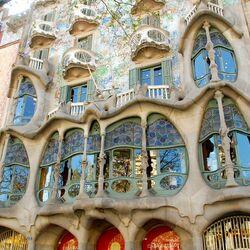 Пазл онлайн: Архитектура Антонио Гауди