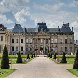 Пазл онлайн: Люневильский дворец(фрагмент)