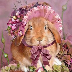 Пазл онлайн: Кролик на Пасху