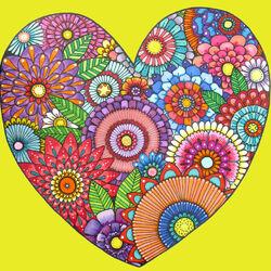 Пазл онлайн: Сердце весны