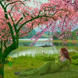 Пазл онлайн: Весенняя красота