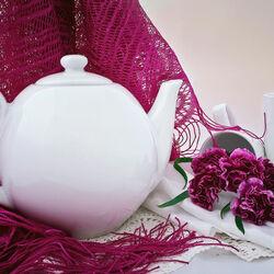 Пазл онлайн: Белый чайник