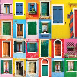 Пазл онлайн: Двери и окна Бурано