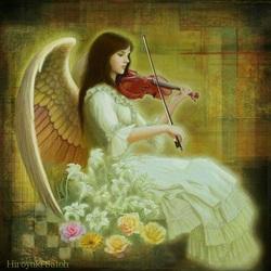 Пазл онлайн: Ангел музыки