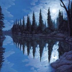 Пазл онлайн: Девы озера