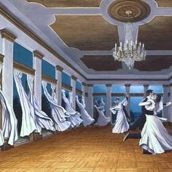 Пазл онлайн: Танец ветра