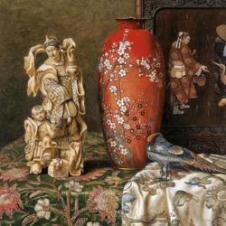Пазл онлайн: Восточный натюрморт