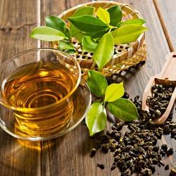 Пазл онлайн: Зеленый чай