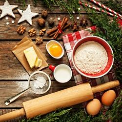 Пазл онлайн: Новогодние приготовления
